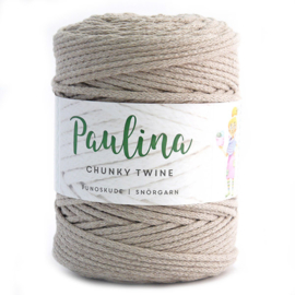 Paulina Chunky Twine Linen beige