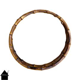Bamboe handvat tassenhengsel 22 cm