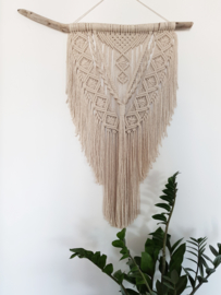 Macrame koord 5mm 2 kilo Naturel