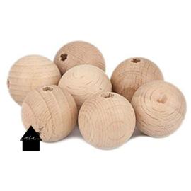 Beuken houten kralen 10 mm (per 10 stuks)