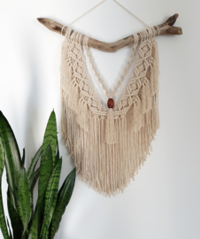 Macrame koord 2 mm 1.5 kilo Naturel