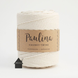 Paulina Chunky Twine Naturel white