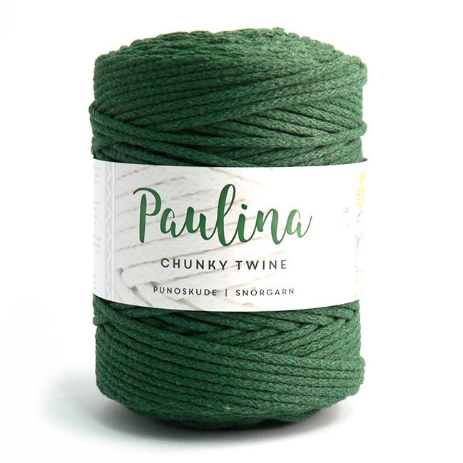 Paulina Chunky Twine Dark Green