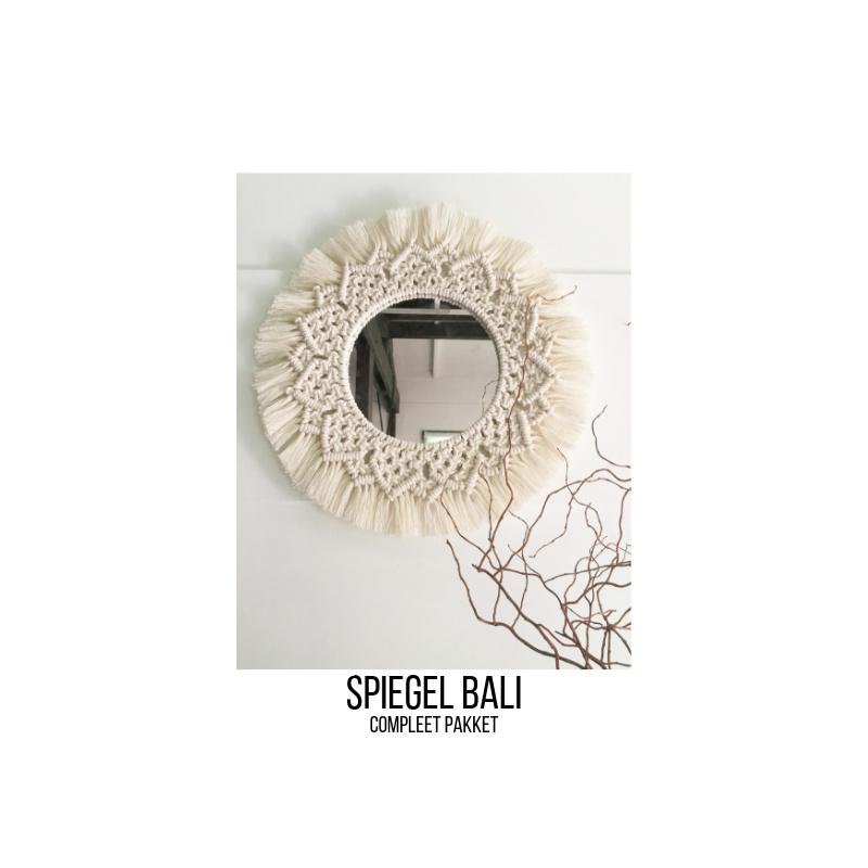 Spiegel Bali (macramé)