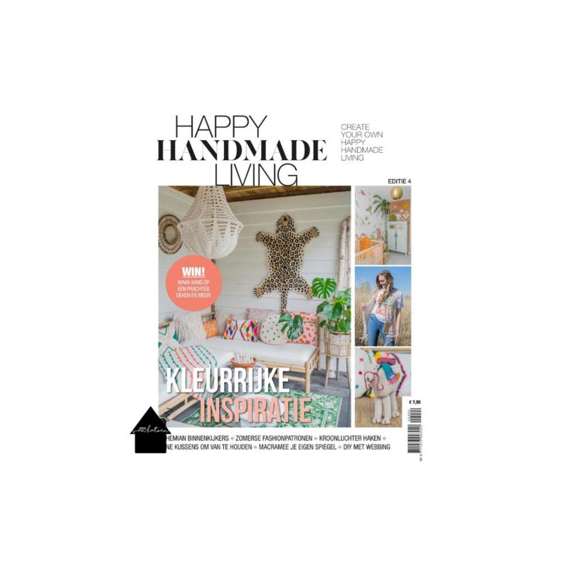 Magazine Happy Handmade Living editie 4