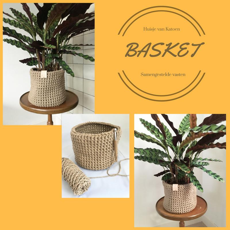 Basket met samengestelde vasten