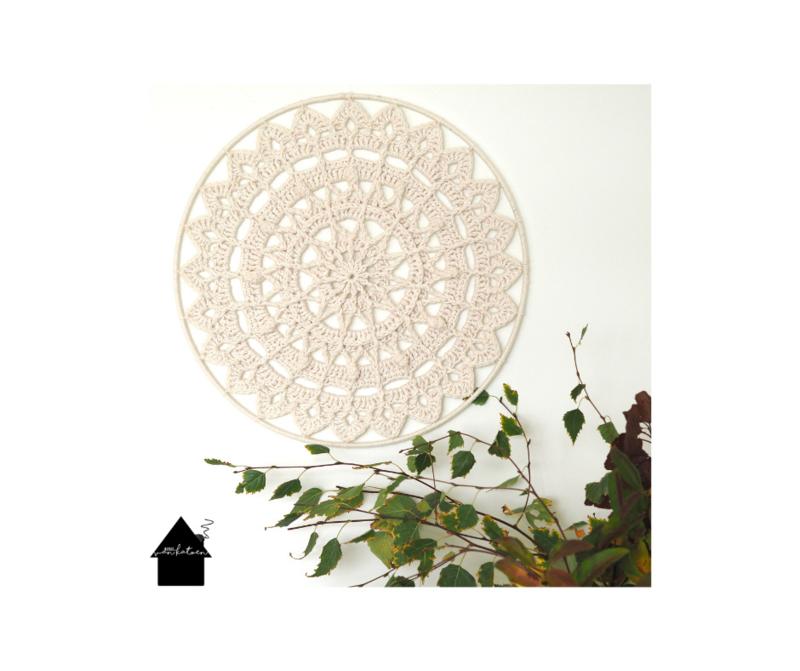 So Natural Mandala 50 cm effen