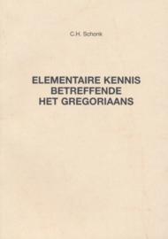 Elementaire kennis betreffende het Gregoriaans