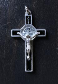 Benedictus kruisje | zwart