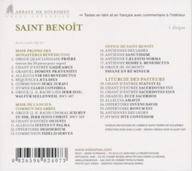 Saint Benoît - Sint Benedictus