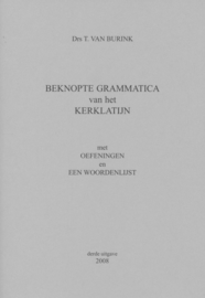 Beknopte grammatica van het kerklatijn