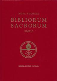 Aanbieding : Nova Vulgata: Bibliorum Sacrorum editio