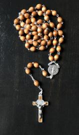 Benedictus rozenkrans | lichtbruin