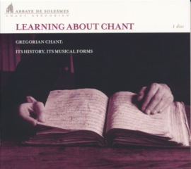 Learning about chant - Leren over de zang