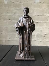 Beeld Sint Laurentius | klein | bronskleur