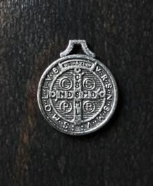 Medaille St. Benedictus    Metaal  18 mm