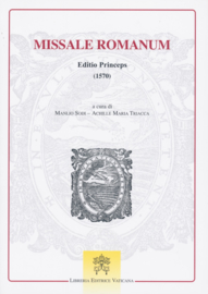 Missale Romanum Editio Princeps 1570 | Studieuitgave