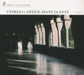 Vêpres et Office avant la Nuit - Vespers en Officie voor de Nacht