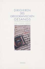Dirigieren des Gregorianische Gesangs