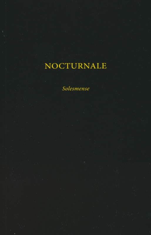 Nocturnale Solesmense