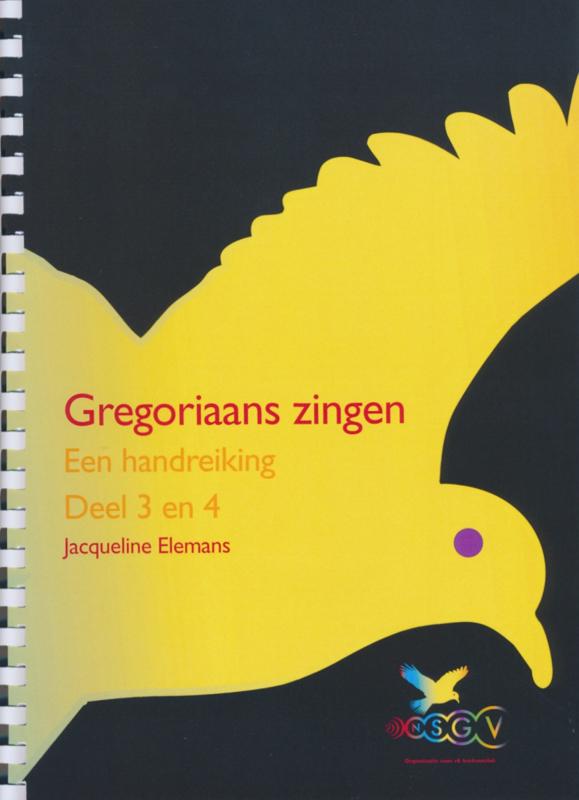 Gregoriaans zingen | Een handreiking Deel 3 en 4