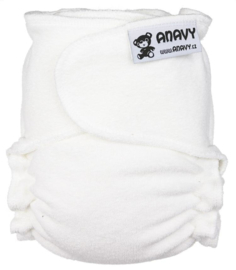 Anavy One Size Wit (snapless)