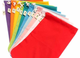 Wetbag S Rood - Little Lamb (4 luiers)