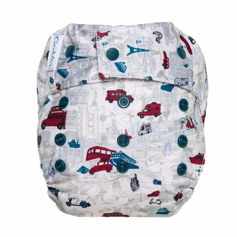 GroVia Snap-in-One hybride luiercover Have Baby Will Travel