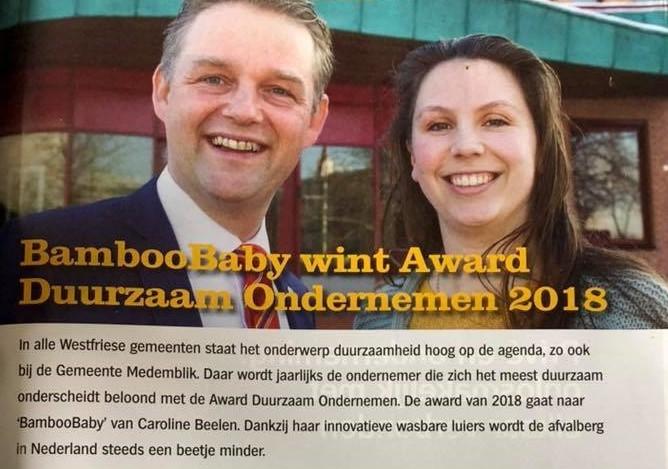 Award Duurzaam Ondernemer