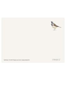 postkaart | Kuifmees