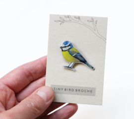 tiny bird broche | Blue tit