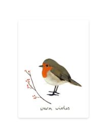 mini card | Robin winter