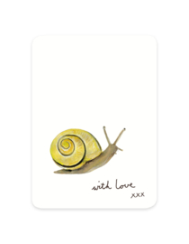 mini card | Snail