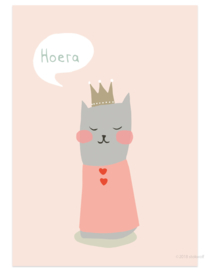 postcard | Cat princess