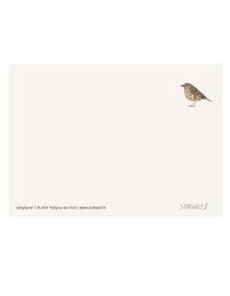 postkaart | Zanglijster