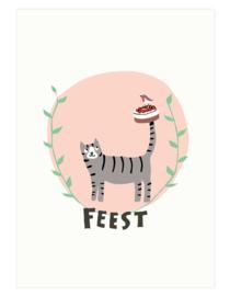 postkaart | Verjaardagstaart