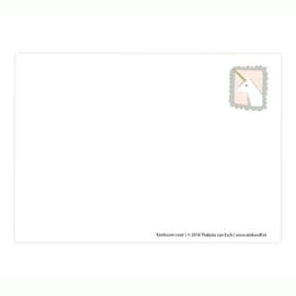 postkaart   Eenhoorn