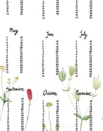 verjaardagsposter | Berg bloemen