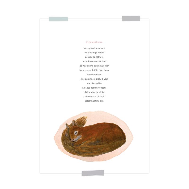 print   Elsje eekhoorn