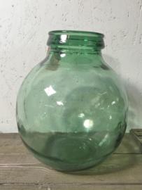 Groene bolle gistfles Viresa