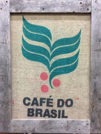 Wandbord Cafe do Brasil