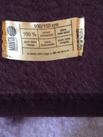 Vintage wollen deken, kinderledikant