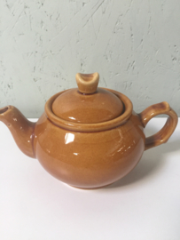 Vintage theepot Waku W-Germany, kleur Spiced Honey