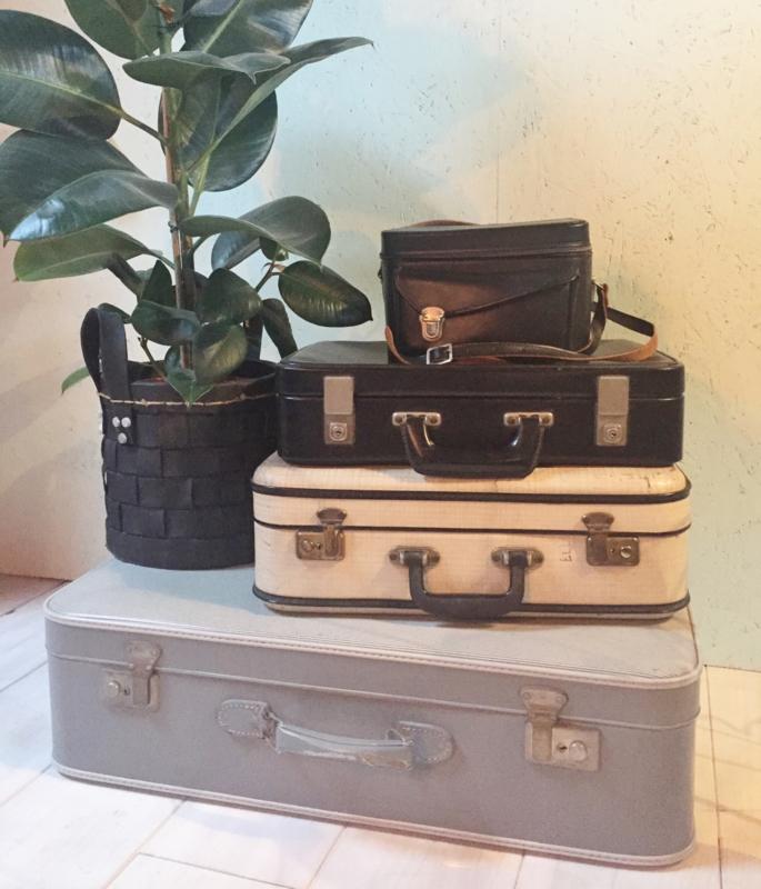 Diverse vintage koffers