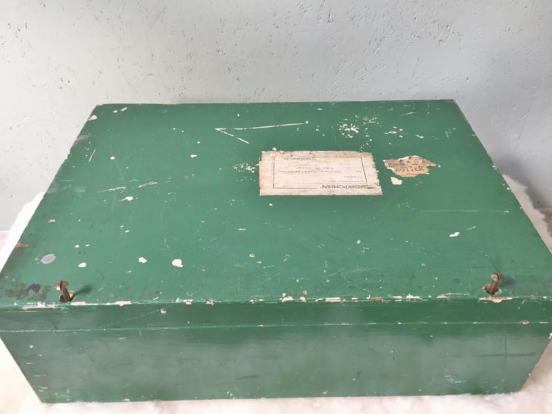 Wonderlijk Industriële kist | Koffers, tassen en kisten | GaafinHuis ZA-38