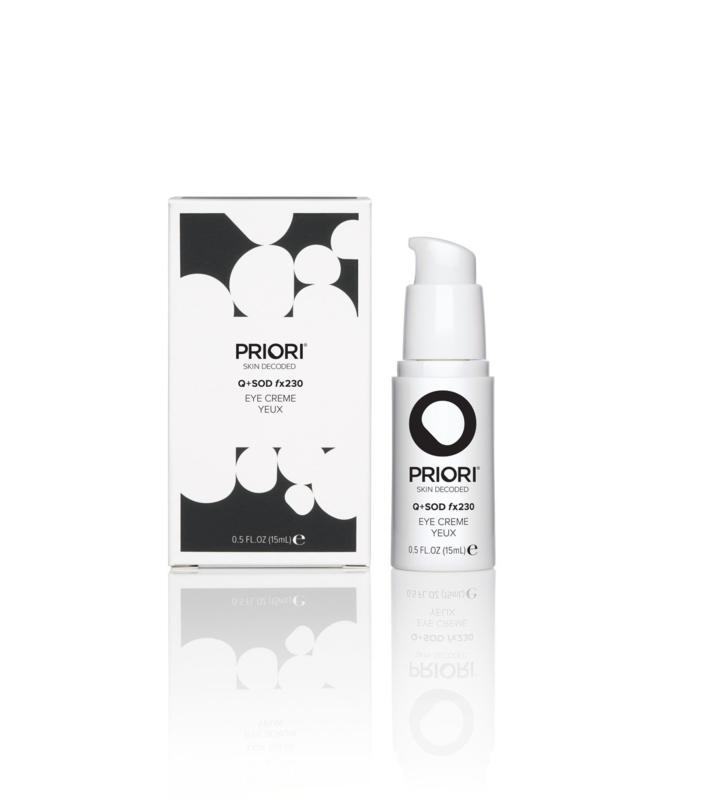 PRIORI Q+SOD fx230 - Eye Crème 15ml