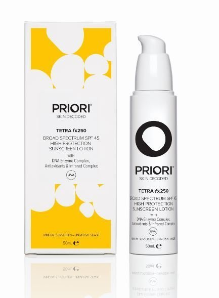 PRIORI TETRA fx250 - Broad Spectrum SPF 45 UNIVERSAL 50ml