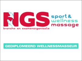 Muurschild Wellnessmassage