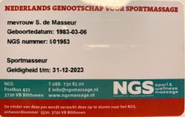 NGS-licentie ACE, ESPO NESM of NESPG.