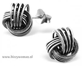 Oorknopjes 925 zilver Momo